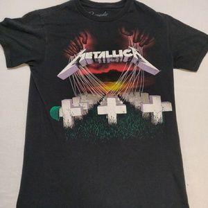 Metallica Puppet Master black t-shirt. Sz S.
